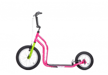 YEDOO CITY MAGENTA-GREEN SCOOTER