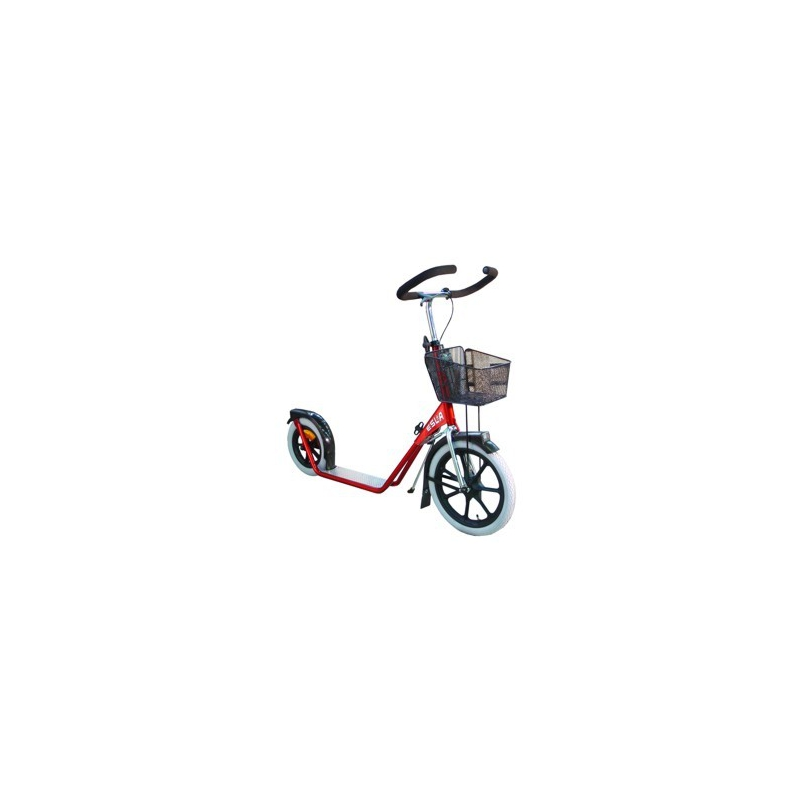 Esla scooter 4100 red small basket for Small motor scooters for sale