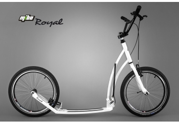 MIBO ROYAL 20/20 WHITE INCL. MUDGUARDS