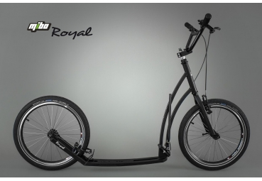MIBO ROYAL 20/20 BLACK INCL. MUDGUARDS