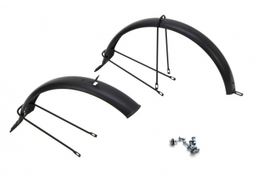 MUDGUARDSET MIBO ROYAL/EXPRESS 20 INCH BLACK