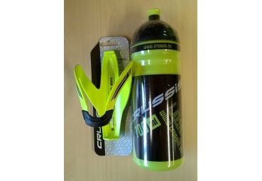 CRUSSIS NEON BOTTLE AND HOLDER