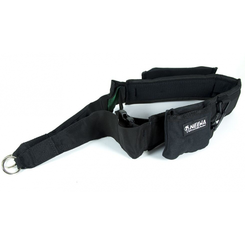 NEEWA - DOG TREKKING BELT - BLACK