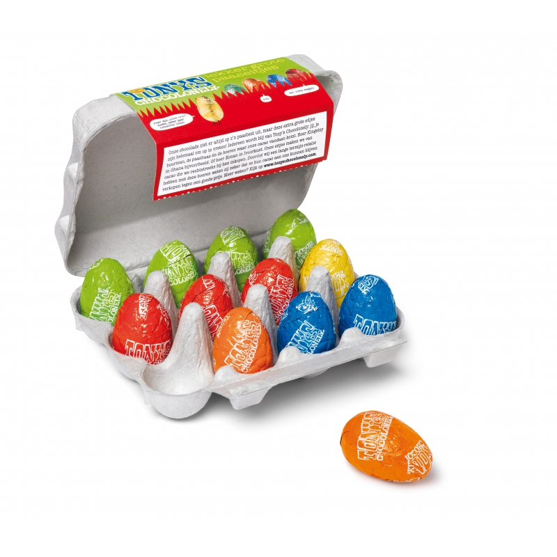 CHOCOLATE EGGS TONYS CHOCOLONELY