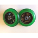 JD BUG WHEELSET 100 MM BLACK-GREEN