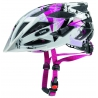 UVEX HELMET - AIRWING WHITE/PINK SMALL