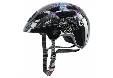 UVEX HELMET - FINALE JUNIOR PURPLE FLOWERS SMALL