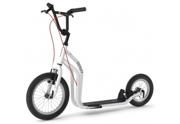 YEDOO CITY WHITE-BLACK SCOOTER
