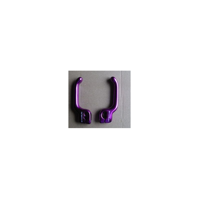 BRAKE LEVER EXTENDER SET - PURPLE