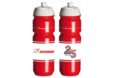 BIO BOTTLE RED 750ML - 25 YEARS KICKBIKE