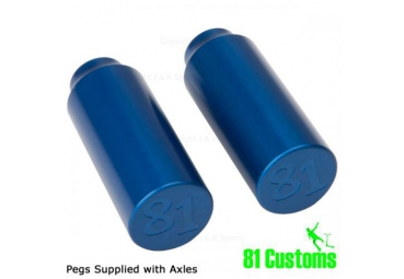 81 CUSTOM PEGS - BLUE (PAIR)