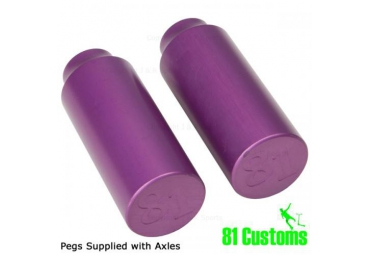 81 CUSTOM PEGS - LILAC (PAIR)