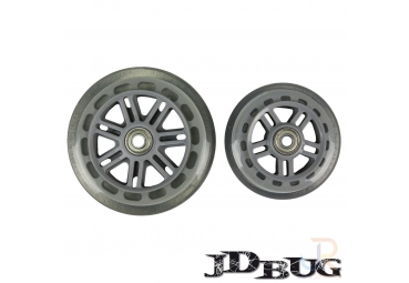 JD BUG JUNIOR WHEELSET 120/100 MM (WITH BEARINGS)