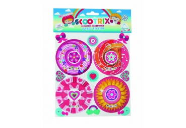 SCOOTRIX WHEELSTICKERS GIRLS