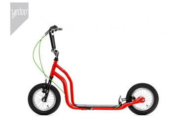 YEDOO OX RED-BLACK SCOOTER