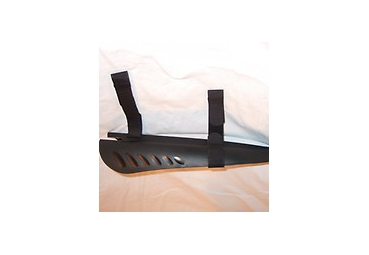 KICKBIKE MUD FLAP BLACK FOR KB MAX MODELS
