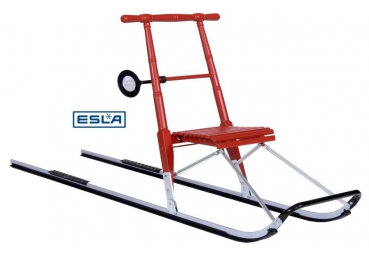 ESLA T4(STEPSLEE) HOUT RED + 56 MM RUNNERS