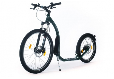 KICKBIKE CROSS MAX 20HD+ RACING GREEN (HYDRAULIC)