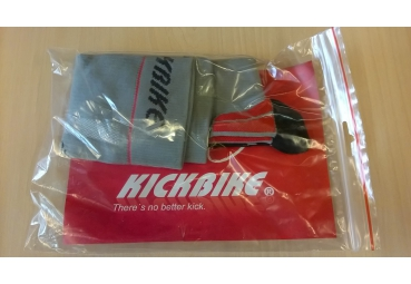 KICKBIKE SOCK SET GREY SIZE 39-41