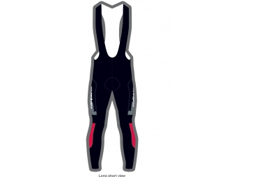 KICKBIKE/ BIORACER BIBTIGHT PROVEN WINTER MT XS